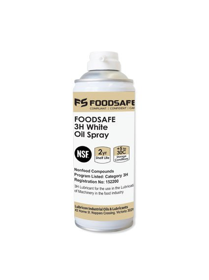 Foodsafe 3H White Oil Spray